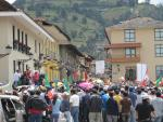 The strike at Cajamarca - april 11, 2012